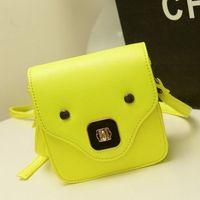 2013 women's handbag neon color candy bag jelly bag messenger bag small bag