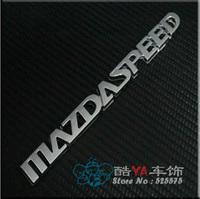 "Buy 2pcs - 20% OFF!!! Free Shipping ""Mazda Speed"" Logo Tuning Stylish Label Car Labels Car Emblems"