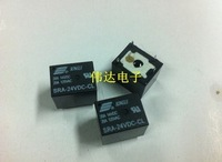 Free shopping 10pcs 24VDC 20A SRA-24VDC-CL 5Pins  Mini Power Relay Automotive Relay