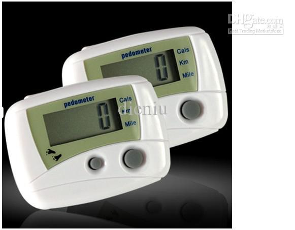 Electronic Multi function Step Counter High Quality Pedometer 50pcs/lot(China (Mainland))