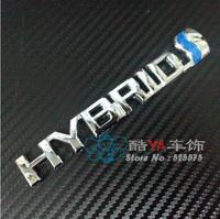 "Buy 2pcs - 20% OFF!!! Free Shipping ""HYBRID"" Logo Tuning Stylish Label Car Labels Car Emblems"