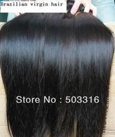 queen unprocessed virgin brazilian hair straight black aaaaa grade top quality