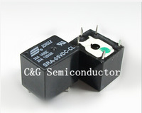 Free shopping 50pcs 5VDC 20A SRA-05VDC-CL 5Pins  Mini Power Relay Automotive Relay