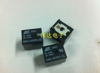 Free shopping 50pcs 24VDC 20A SRA-24VDC-CL 5Pins  Mini Power Relay Automotive Relay