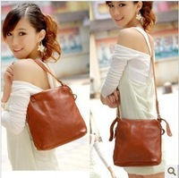 2013 hot selling retro genuine leather women shoulder bag / 100% cowhide natural skin women messenger bag / free shipping