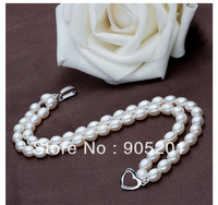 AAAA 5-6mm Freshwater Pearl Bracelet(18cm)(3piece)+Wholesale&amp;Retail+Free Fast Shipping