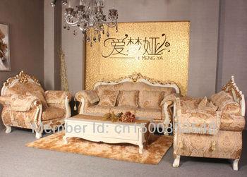 Sofa / living room sofa / European style sofa / wood carved sofa / sofa set /802