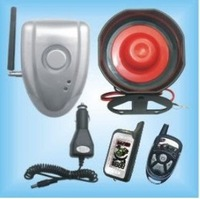 No Installation DIY Two Way Car Alarm Auto Security System with Wireless Alarm Siren and No Wires Connect to Car