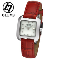 Lady fashion watch women's genuine leather watch