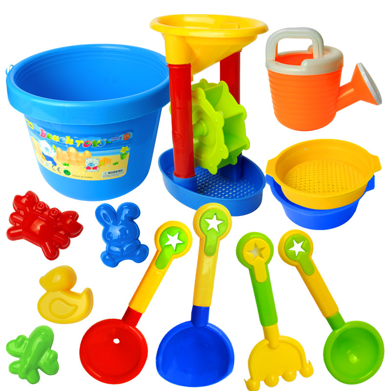 Large beach set child baby hourglass educational toys 1 - 2-3-67(China (Mainland))