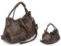 Elegant NEW FASHION PU Leather Purses Handbags Totes HOBO Shoulder Bag