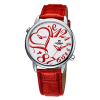 Watch love female fashionable casual lady waterproof genuine leather ladies watch