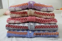 Small sweater male female child sweater cardigan child coat