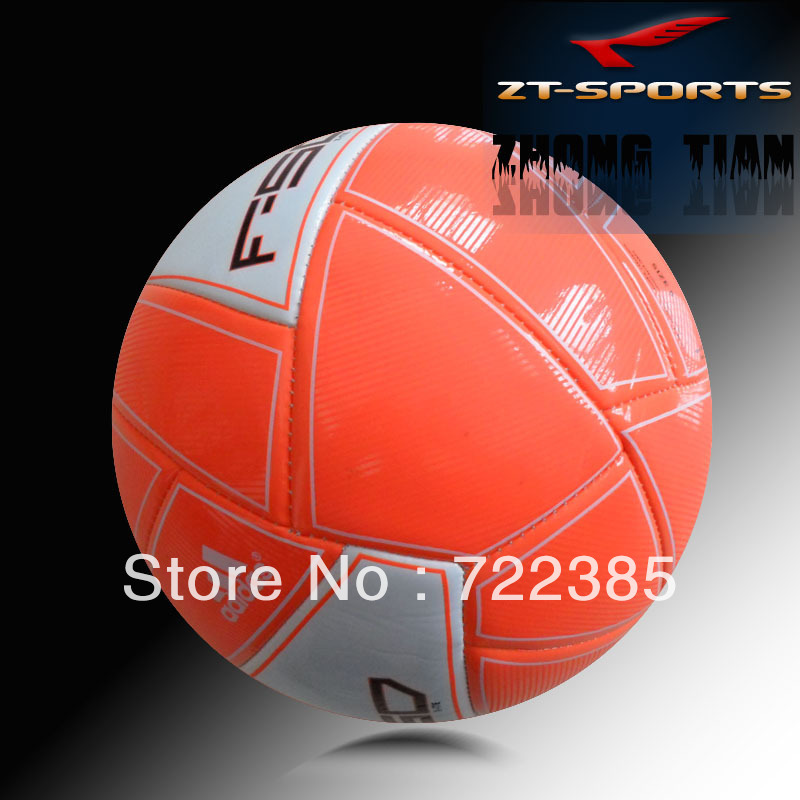 Free shipping hot sales new design official size 5 TPU soccer ball/football.Training quality.Free with 1pc hand pump+net+needle(China (Mainland))