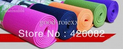 20PCS Yoga Mat Pad Non-Slip Exercise Fitness Pilates PVC- 6mm Thick,173cm*61cm(China (Mainland))