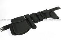 "Nylon 2"" Duty Belt with multi pouches [BT-06-BK] free shipping"