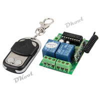12V Universal Gate Garage Opener Remote Control with Transmitter