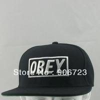 New Hot Obey Snapback Hats adjustable Baseball Cap Hip-Hop Hat Hat  white / Black colors caps hats
