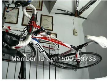 New 2010 Pinarello FP7 Carbon Red/ white Complete Bike