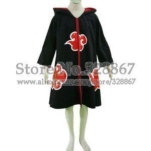 Naruto Sasuka Uchiha  Cosplay Costume cloak