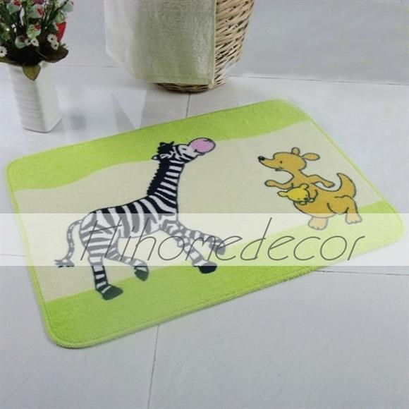 Animals Home Decor Doorway Floor Antislip Bath Rug(China (Mainland))