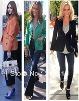 Hot selling woman suit blazer A variety of color can offer options free shipping