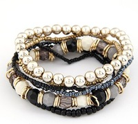 Min.order $10(mix order)SPX2968 New Arrival Hot Sale Fashion Beads Bracelet Bangle Jewelry for women