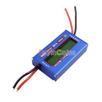 New Digital 60V/100A Battery Balance LCD Voltage Power Analyzer Watt Meter #30004