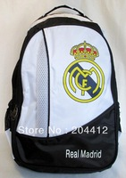 Real Madrid FC Soccer Fans Shoulder Bag Backpack Schoolbag Outdoor Satchel