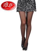 5 double gift box LANGSHA ultra-thin stockings women's wire summer pantyhose socks