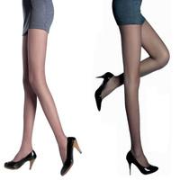 10 LANGSHA wire double socks female wire ultra-thin Core-spun Yarn pantyhose