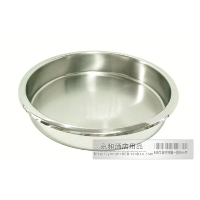 Circle stainless steel food pots liner supplies western kitchen meal stove circle fracition plate(China (Mainland))