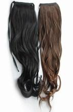 Wig horseshoers pear roll horseshoers long curly hair(China (Mainland))