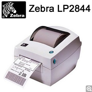 Zebra LP2844 compact direct thermal barcode printer/ thermal sticker label printer/ easy use barcode label machine(China (Mainland))
