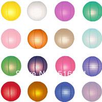 20pcs/lot 12''(30cm)Free shipping Round paper lanterns lamps festival&wedding decoration 9 colors for choosing wedding lantern
