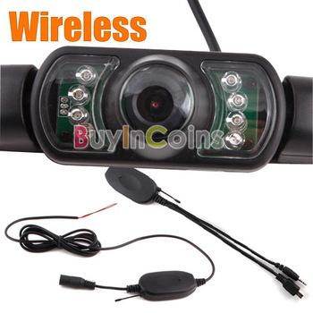 Wireless Car Rear View IR Night Vision Camera for GPS   [2349|01|01]