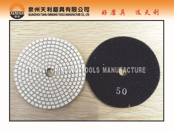 Flexible Wet Diamond Polishing Pad(China (Mainland))