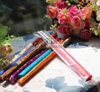 Free Shipping! Wholesale 50 pairs Bamboo Chopsticks Matching Silk Cove