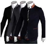 2013 British Fashion suit slim coats Mens casual Stunning slim fit Jacket Blazer Short Coat one Button suit,u51401