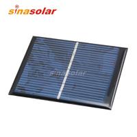 4V 160mA High Efficiency Polycrystalline Solar Cell for electronic DIY 90x70mm 0.6W
