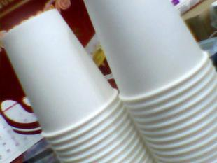 Eco-friendly paper cups 250mi--50 bag blank cup 9(China (Mainland))