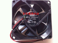 Find Home Avc c8025s24ua 8025 24v 0.3a 8cm 2 line frequency converter computer case cooling fan