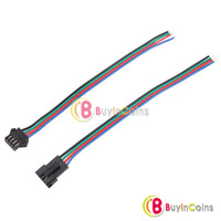 Flexible JST Connector RGB Led Strip Lamp Snap-in Male / Female Header Connecter [22939|01|01]