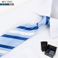 Ys . byl 8cm formal commercial tie marriage tie six pieces set tz805