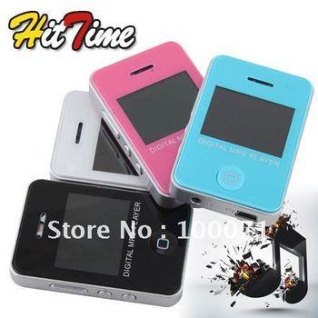 Mini Fashion LCD Crystal MP3 Music Media Player 2GB Support 8GB Micro SD TF Card [11037|99|01]