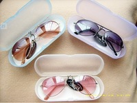 HOT in 2013 !! fashion baby kids Children sunglasses with clean cloth and case,ANTI-UV, UV 400,Free shipping !! 2pcs/Lot !!