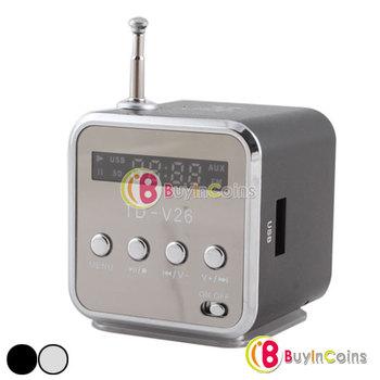 USB Portable Speaker Audio Music Player Sound Box FM Radio Micro SD/TF Card #11 [20573|99|01]