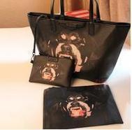 Free shipping!2014 New fashion Women handbag high quality leather Rottweiler vicious dog bag retro bag ladie's shoulder bag tote