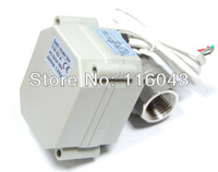 DC9-24V Motorised Valve SS304 1/2'' 3 wires for water control system
