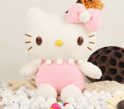 1pcs/lot,Top quality best price For Iphone 5 hello kitty teddy bear stitich plush toy case,free shipping!!!(China (Mainland))